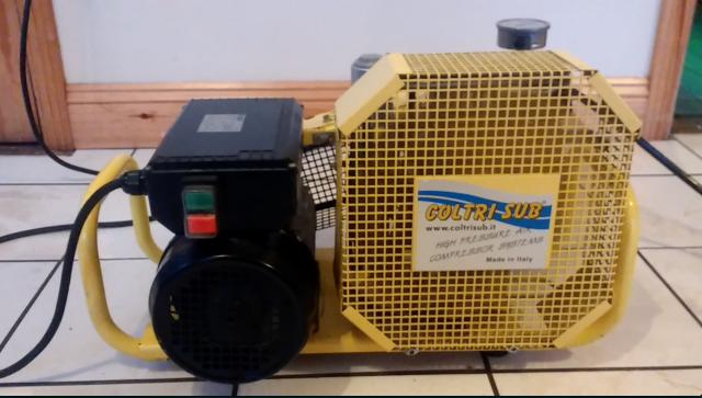 Divegear ie :: Coltri MCH-6 Electric Compressor