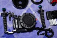 SONY RX IV with housing nautcam with lens housing