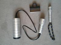 Solas umbilical LED torch and mini backup