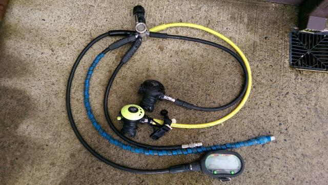 Apex 1st and 2nd stage regs for sale - Apex dive gear ...