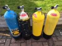 8x 12l 232 BAR cylinders for sale